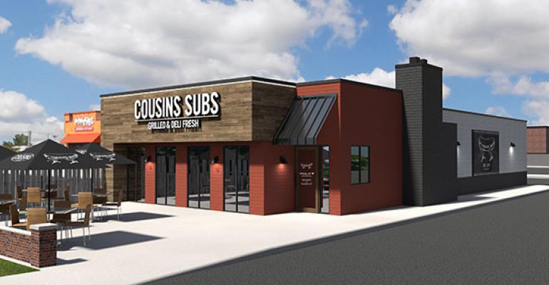 Cousins Subs restaurant