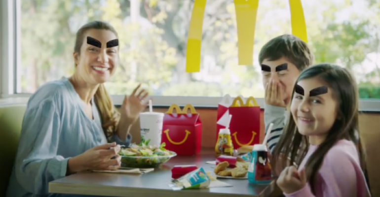 Must-see videos: McDonald's has fun with Angry Birds eyebrows