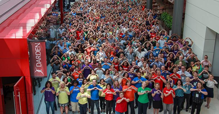 Darden and its employees have stepped in to provide support to the Orlando community