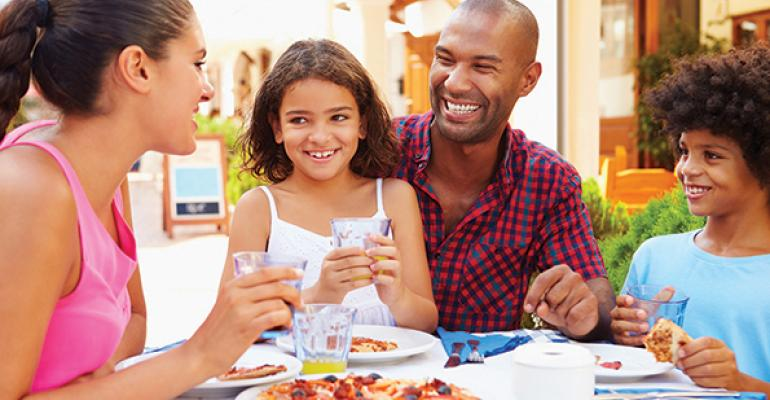 Accommodating families is key for Hispanic consumers More than 40 percent of this group visited restaurants with children last year