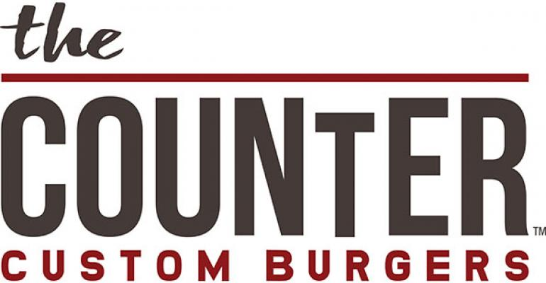 The Counter Custom Burgers logo