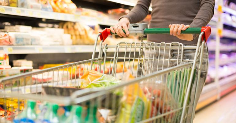 Grocery prices drop, widening gap with restaurant prices