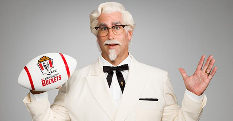 KFC taps comedian Rob Riggle as new Colonel