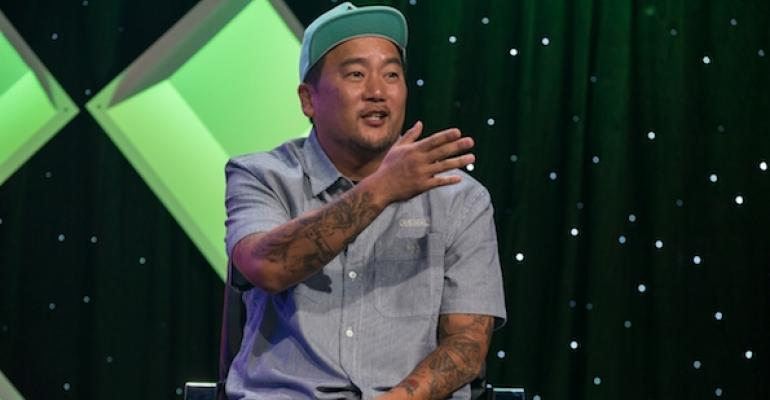 Food truck pioneer Roy Choi gave a keynote speech at MUFSO