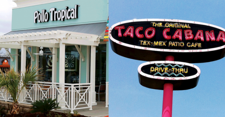pollo tropical and taco cabana