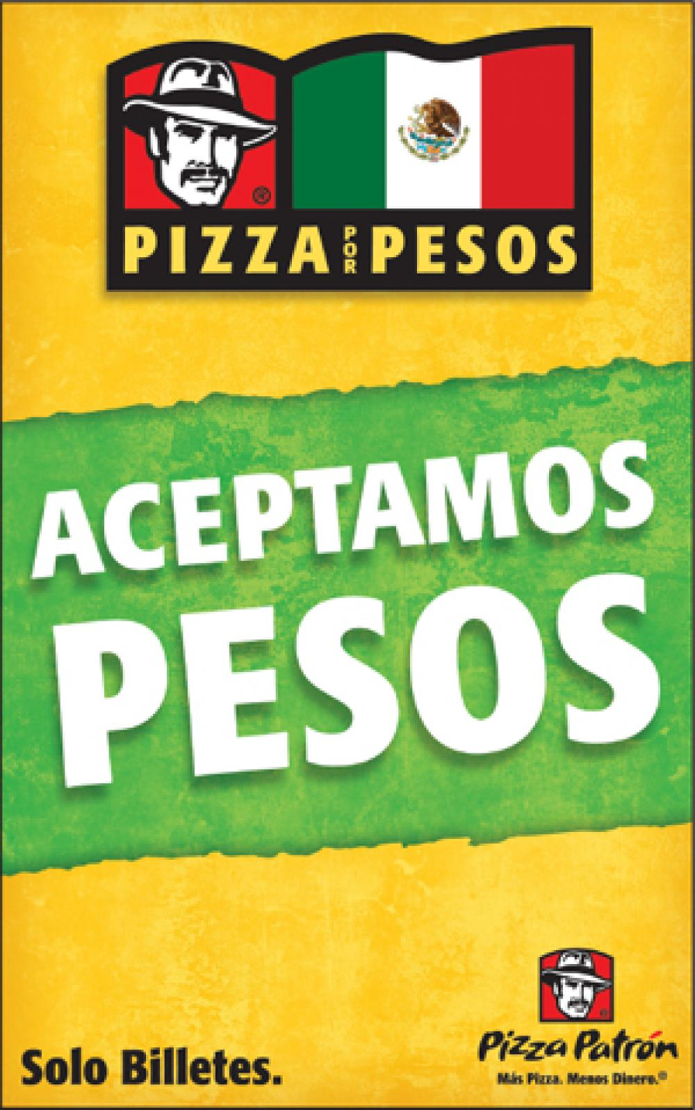Pizza chain's peso promotion fans flames of immigration debate