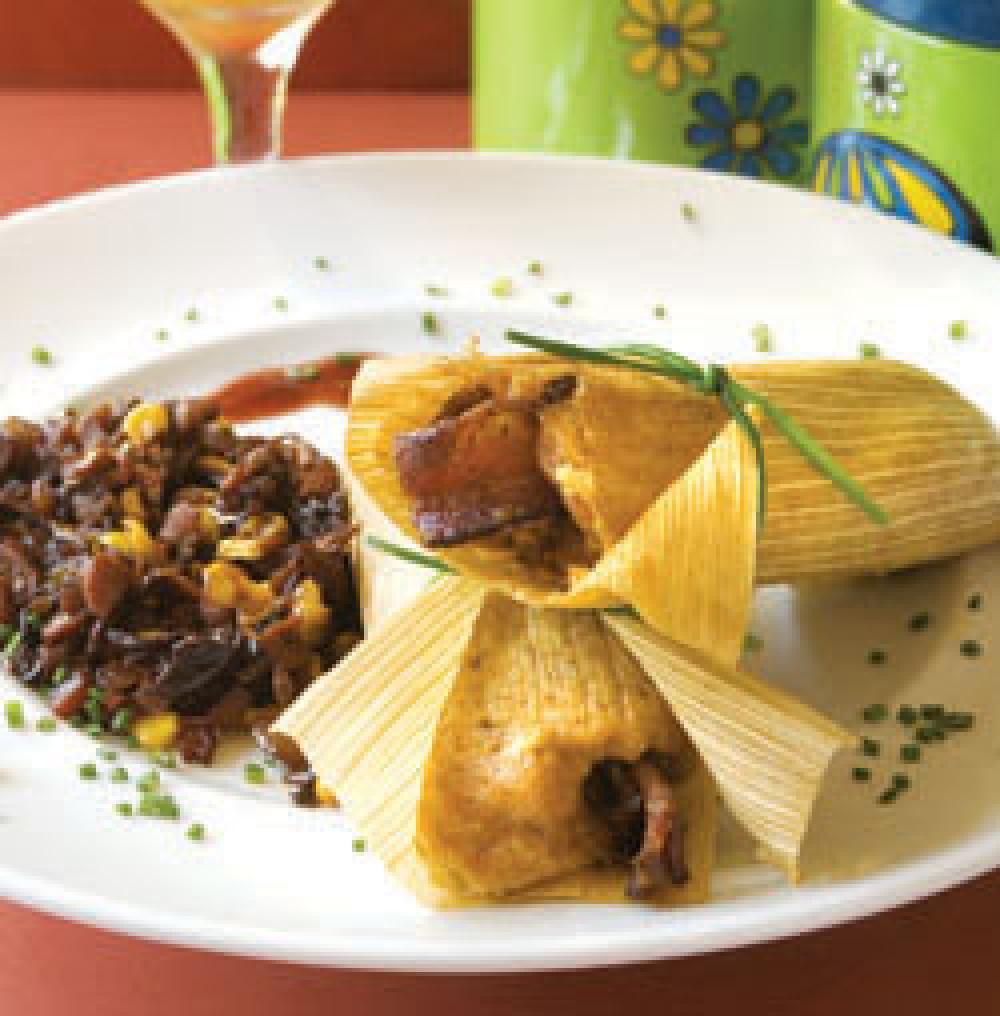 DISH OF THE WEEK: Cherry bacon and duck tamales