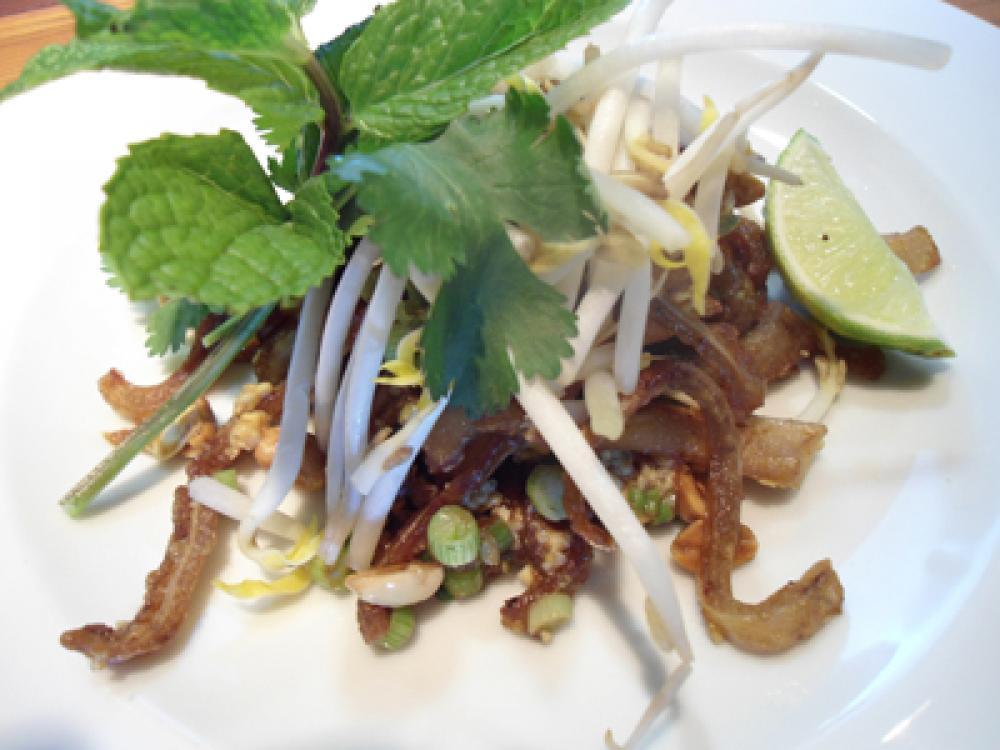Pad Thai Pig Ears