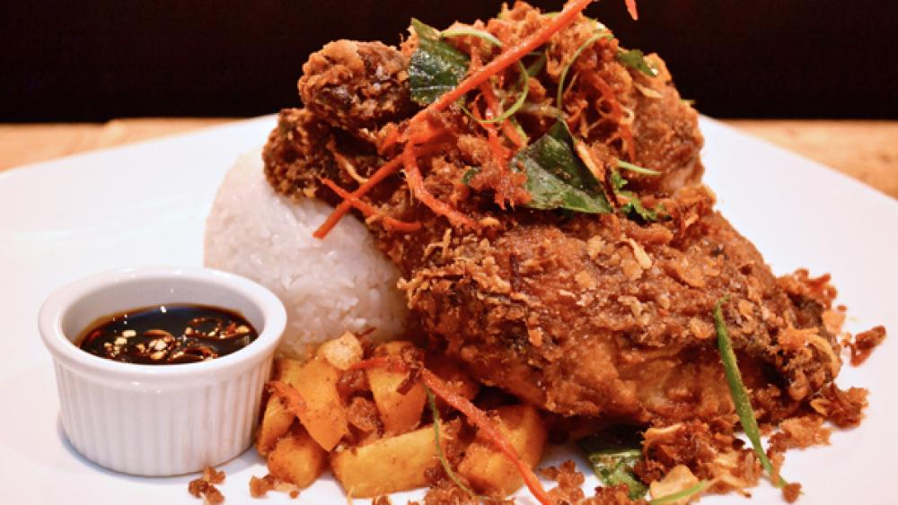Galangal fried chicken