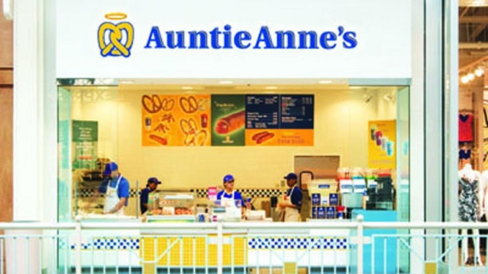 Auntie Anne's to franchise 109 units overseas
