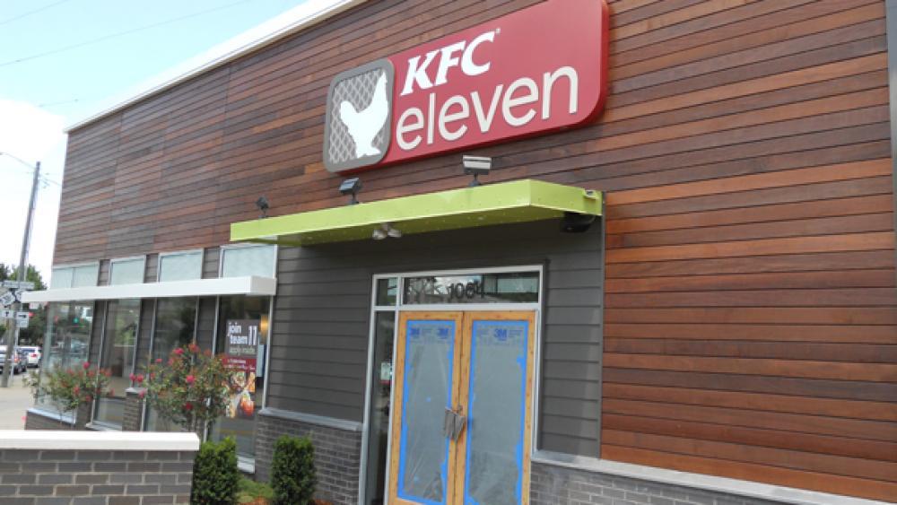 KFC elevens menu is built around boneless chicken
