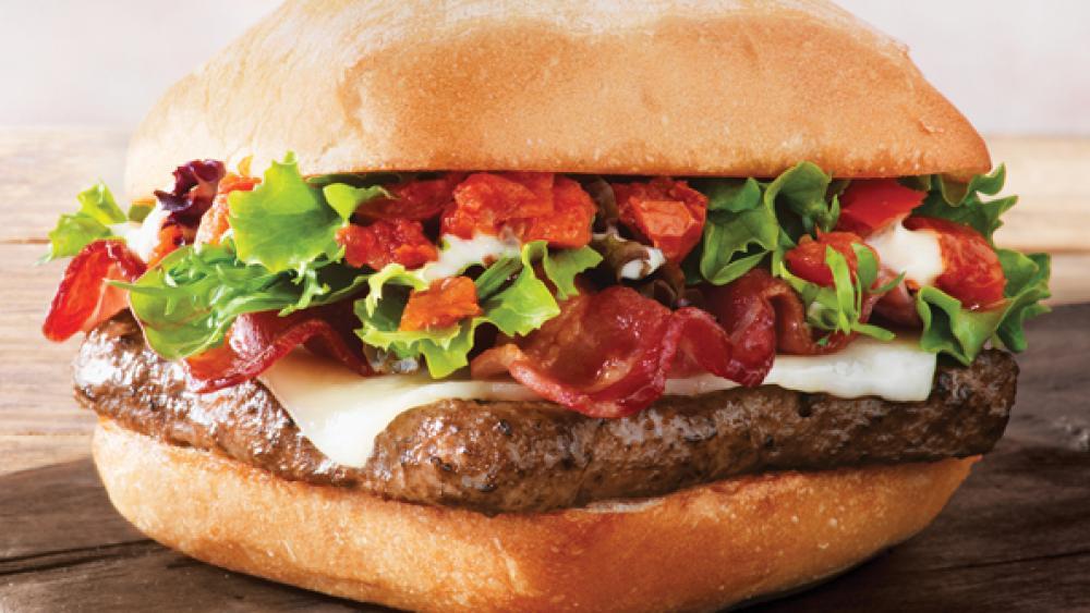 Wendy's introduces Ciabatta Bacon Cheeseburger