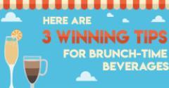 3 Winning Tips for Brunch Time Beverages