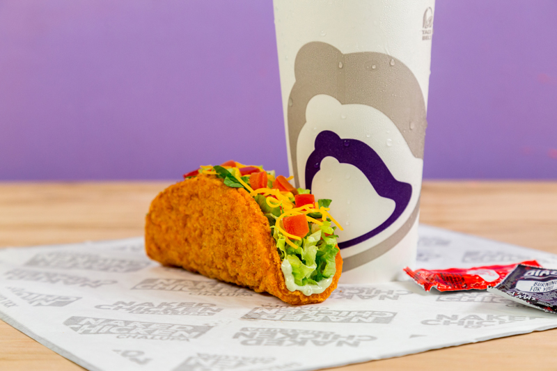 New Taco Bell taco has fried chicken shell