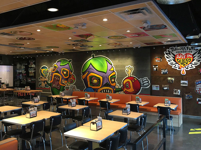 Tex Mex Chain Tijuana Flats Crafts New Look Nation S