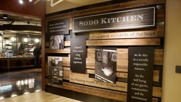 Sodo Kitchen Lunch Menu