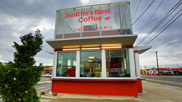 Seattle S Best Coffee To Open Drive Thru Only Units In