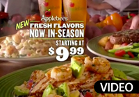 Applebee's summer menu