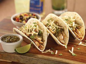 Champps' Fresco Chicken Tacos