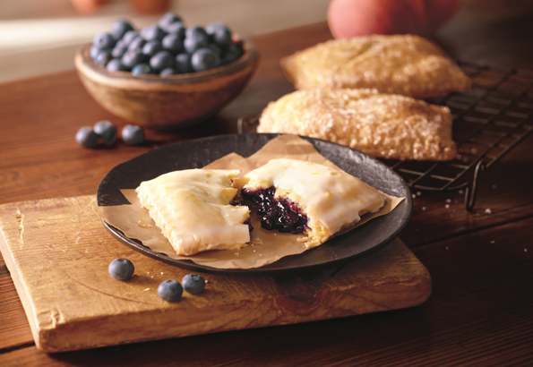 Corner Bakery Café's fruit-filled Hand Pies
