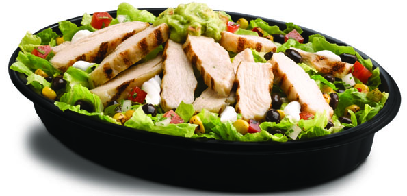 Taco Bell's Power Protein chicken bowl