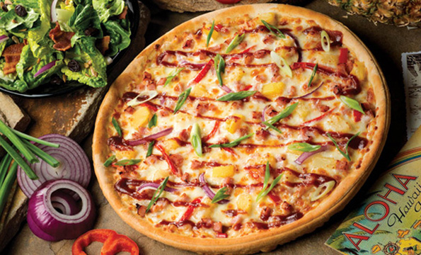 Pizza Ranch's Meaty Tahiti Pizza