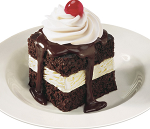 Shoney's Hot Fudge Cake is free to any father with the purchase of an entrée on Sunday.