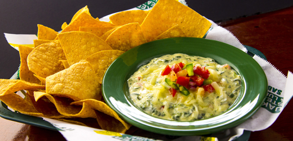 Quaker Steak & Lube's Spin-out Artichoke Dip