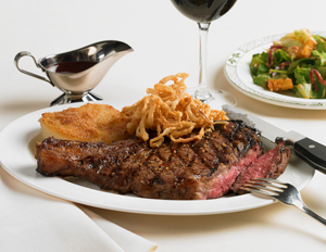 Lawry's new rib eye steak