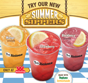 Mango is one of the flavors of Wienerschnitzel's line of Summer Sippers.