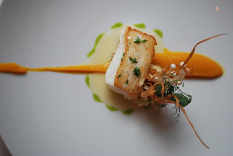 Beyond pumpkin: Seasonal specialties shine on fall menus ... Alaskan Halibut Dish